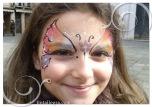 carnevale farfalla 2 occhi