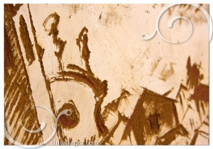 scivolando sul graffito_la chiesa