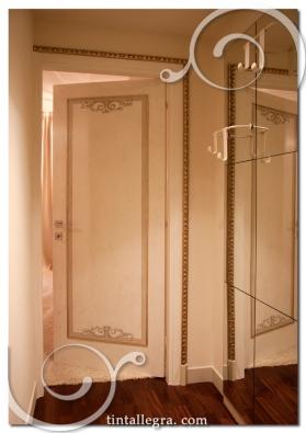 porta classic_specchio riflesso